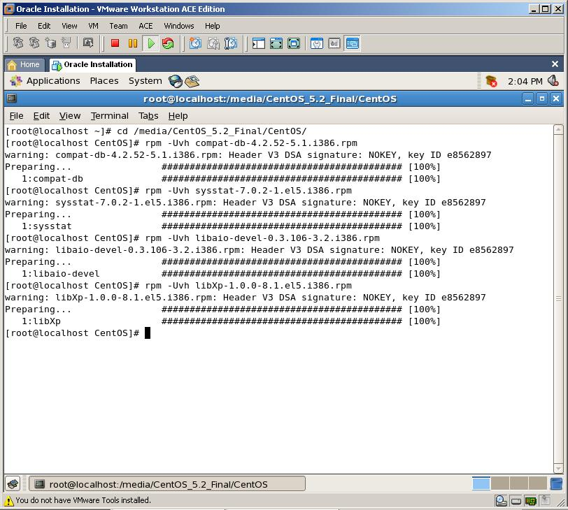 Rpm oracle linux