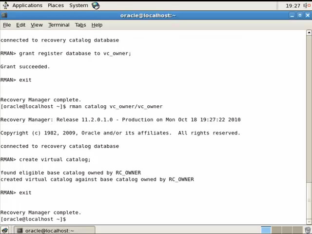 Kamran Agayev's Oracle Blog » Blog Archive » RMAN Video Tutorial